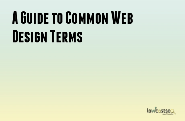 A Guide to Common Web Design Terms