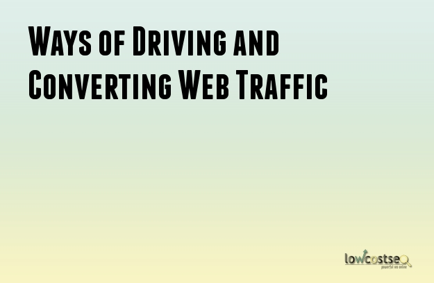 Ways of Driving and Converting Web Traffic