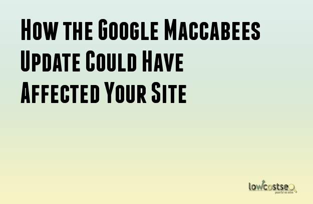 How the Google Maccabees Update Could Have Affected Your Site