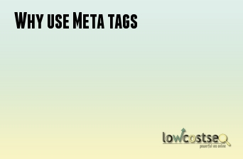 Why use Meta tags