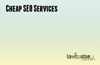 Cheap SEO Services