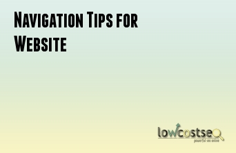 Navigation Tips for Website