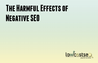 The Harmful Effects of Negative SEO