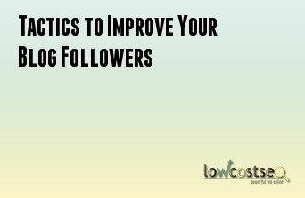 Tactics to Improve Your Blog Followers