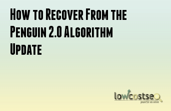 How to Recover From the Penguin 2.0 Algorithm Update