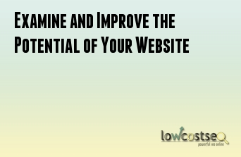 Examine and Improve the Potential of Your Website
