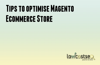 Tips to optimise Magento Ecommerce Store