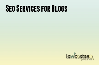 Seo Services for Blogs