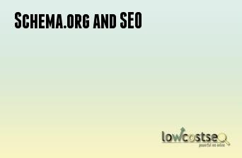 Schema.org and SEO