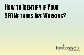 How to Identify if Your SEO Methods Are Working?