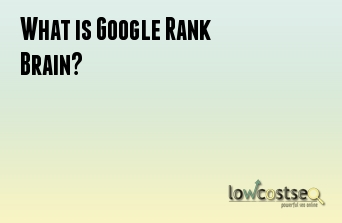 What is Google Rank Brain?